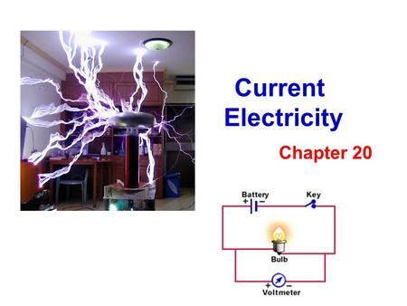 Current Electricity Chapter 20.