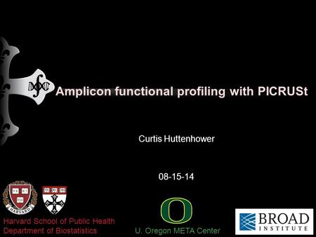 Amplicon functional profiling with PICRUSt