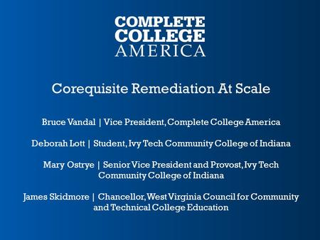Corequisite Remediation At Scale