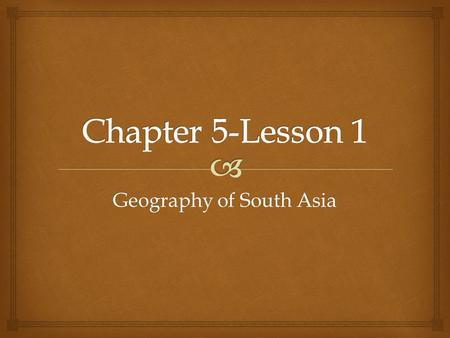 Geography of South Asia.   South Asia extends far into the Indian Ocean as a diamond-shaped land.  It is considered a subcontinent.  Subcontinent-
