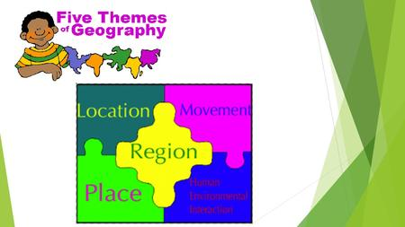 LOCATION:  Absolute & Relative  PLACE:  Physical & Human  Characteristics – What is it like?