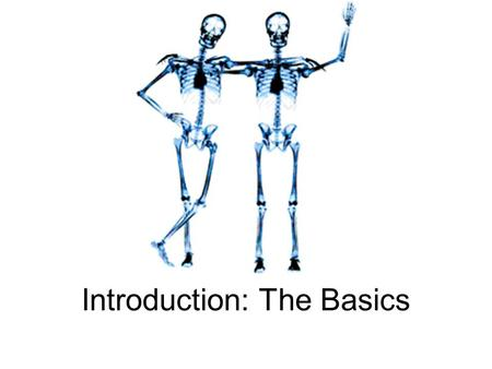 Introduction: The Basics. Overview Medical terminology is a specialized language used by health care practitioners. And, just like a foreign language,