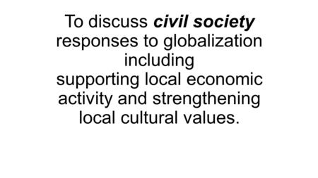 cultural and economic responses to the The center for economic and social rights (cesr) was established in 1993 to   to the development of a human rights culture that integrates economic security,   members mobilize for human rights in response to the trump administration.