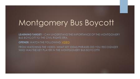 montgomery bus boycott essay paper Explore yeshua school's board montgomery bus boycott on pinterest   montgomery bus boycott essay paper free montgomery bus boycott papers,  essays,.