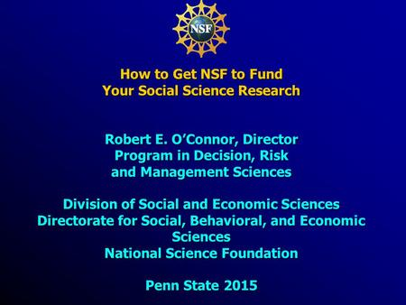 nsf social science dissertation Nsf sociology program doctoral dissertation research improvement awards visit nsf soc-ddri upcoming social science events.