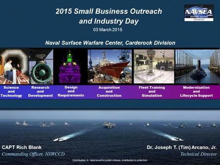 2015 Small Business Outreach and Industry Day
