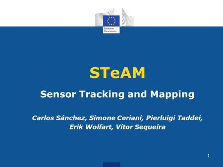 STeAM Sensor Tracking and Mapping