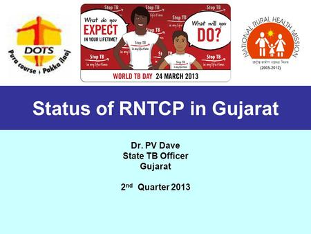 Status of RNTCP in Gujarat