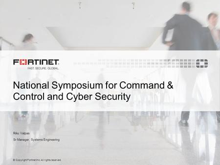 National Symposium for Command & Control and Cyber Security