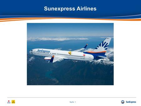 Sunexpress Airlines.