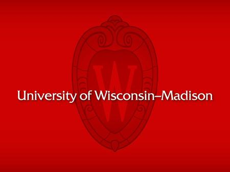 The University of Wisconsin-Madison is a public land-grant institution established in 1848. UNIVERSITY OF WISCONSIN-MADISON.