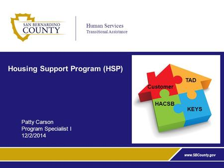 Housing Support Program (HSP)