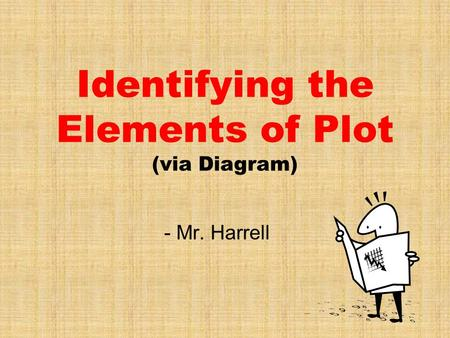 Identifying the Elements of Plot (via Diagram)