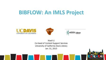 BIBFLOW: An IMLS Project