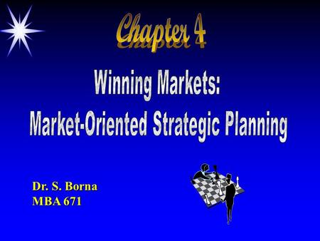 Market-Oriented Strategic Planning