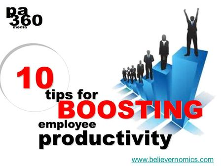 1010 www.believernomics.com employee productivity BOOSTING tips for.