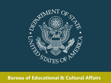 Bureau of Educational & Cultural Affairs. Over 50% of U.S. students enter university with expectations to study abroad.