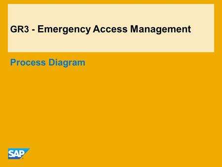 GR3 - Emergency Access Management