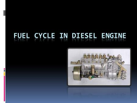 Roger Krieger, GM R&D Center <strong>Diesel</strong> Fuel If you have ever compared <strong>diesel</strong> fuel and gasoline, you know that they are different.gasoline They certainly.