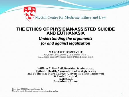 McGill Centre for Medicine, Ethics and Law