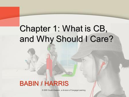 Chapter 1: What is CB, and Why Should I Care?