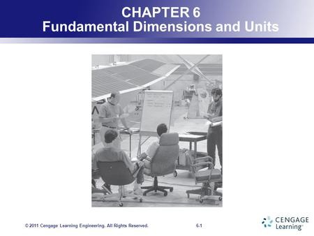 CHAPTER 6 Fundamental Dimensions and Units