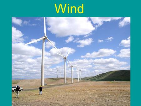 Wind. Is Harrisonburg, VA a good location for wind energy?