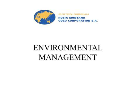 ENVIRONMENTAL MANAGEMENT. BE: Civil & Environmental Engineering: Ireland & France MSc: Environmental Management: Imperial College Experience: Certified.
