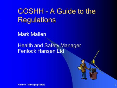 COSHH - A Guide to the Regulations