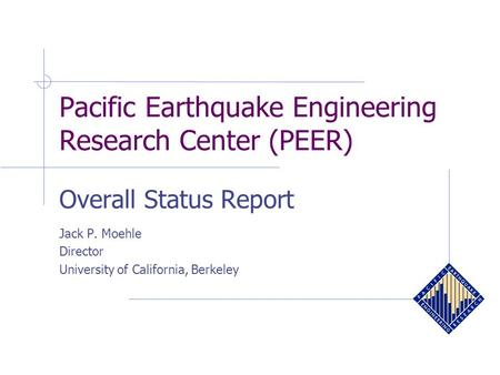 Earthquake research paper