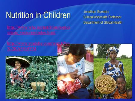 HSERV Nutrition in Children