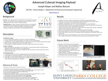 Advanced Cubesat Imaging Payload