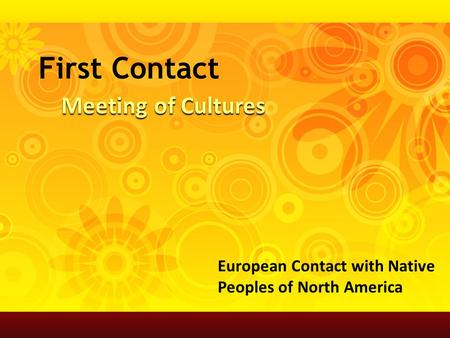 American Indians at European Contact