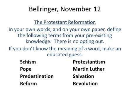 a comparison of the catholic reformation and the protestant reformation Is there a difference between the terms counter-reformation and catholic-reformation what role did individualism play in the protestant reformation enotes.