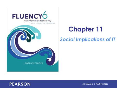 Chapter 11 Social Implications of IT. Learning Objectives Give examples of how social networking technology can improve society Describe several tips.