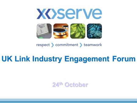 UK Link Industry Engagement Forum