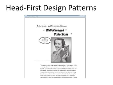 Head First Design Patterns Composite Iterator