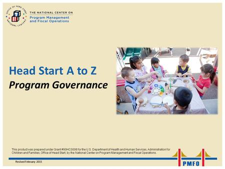 Head Start A to Z Program Governance