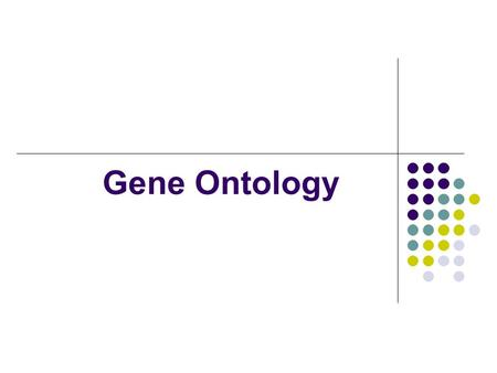 Gene Ontology. GO Terms Data Full tree available from www.geneontology.org in text formatwww.geneontology.org OBO file format is current, contains all.