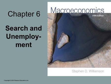 Search and Unemploy-ment