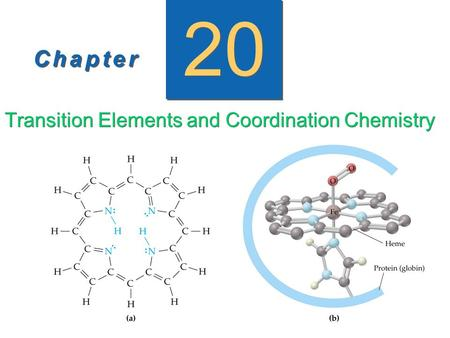 Transition Elements and Coordination Chemistry