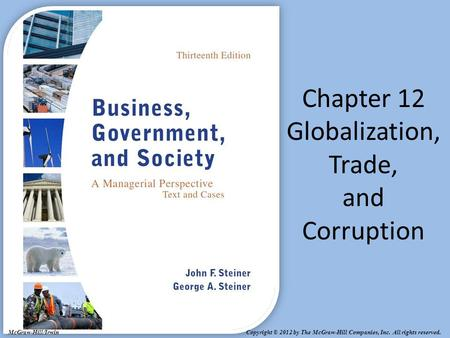 Chapter 12 Globalization, Trade, and Corruption