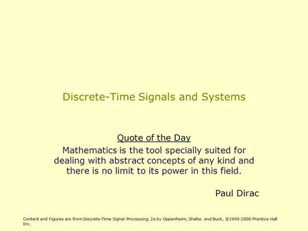 discrete time signal processing third edition pdf