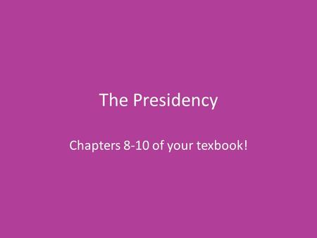 Chapters 8-10 of your texbook!