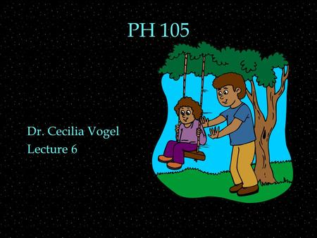 PH 105 Dr. Cecilia Vogel Lecture 6. OUTLINE  Natural or Normal Modes  Driving force  Resonance  Helmholtz resonator  Standing Waves  Strings and.