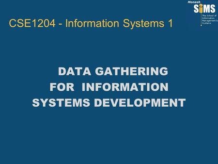 CSE Information Systems 1