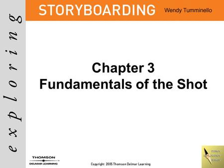 Chapter 3 Fundamentals of the Shot