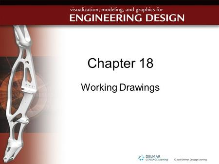 Chapter 18 Working Drawings.
