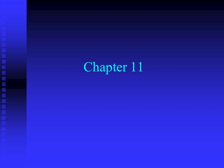 Chapter 11. Cost of Capital n Basic Skills: (Time value of money, Financial Statements) n Investments: (Stocks, Bonds, Risk and Return) n Corporate Finance: