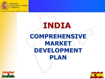 <strong>INDIA</strong> COMPREHENSIVE MARKET DEVELOPMENT PLAN.  With a 1.65% growth rate, <strong>India</strong> contributes most to world population growth. EEUU 290 mn. UE 380 mn. CHINA.
